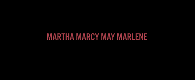 Martha Marcy May Marleen